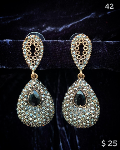 Earrings 2 ~ Cubic Zirconia CZ (Set 1)