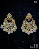 Earrings 4 ~ Jadau / Polki (Set 1)