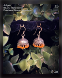 Earrings ~ 92.5% Pure Silver Collection 2