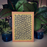 "Card ~ Handpainted Bejeweled 5""x7"""