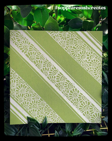 Card ~ Handpainted Square