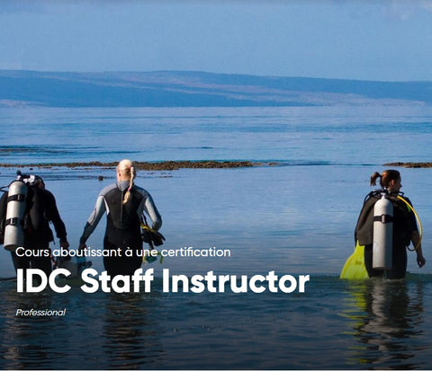 Inscription IDC Staff Instructor PADI
