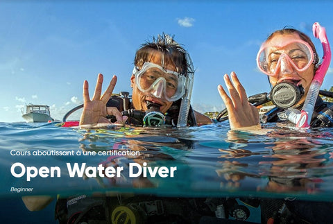Inscription cours de plongée PADI Open Water Diver