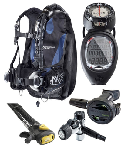 Ensemble Divemaster de Sherwood