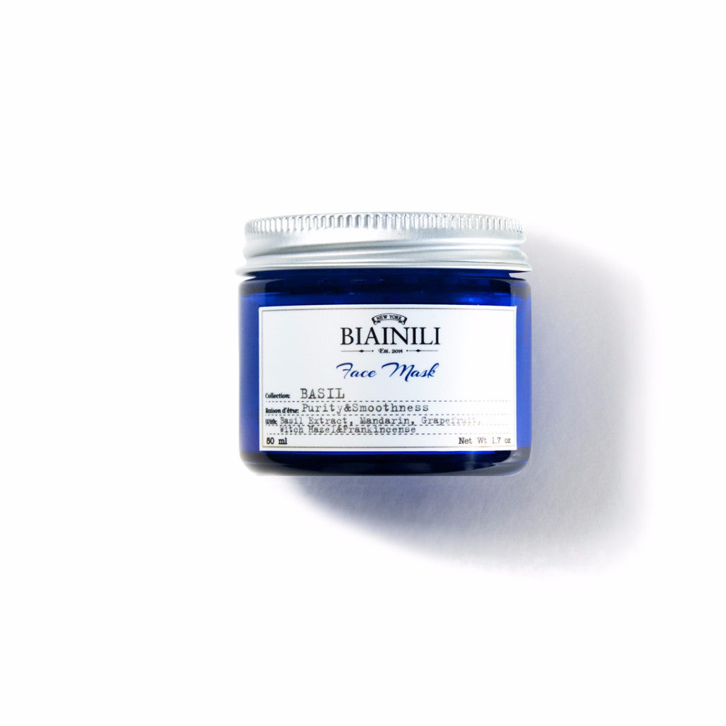 Basil Leafs Purifying Face Gel Mask - BIAINILI
