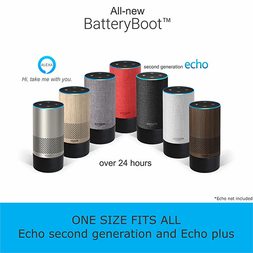 Attaches to Bottom ofYour Amazon Echo