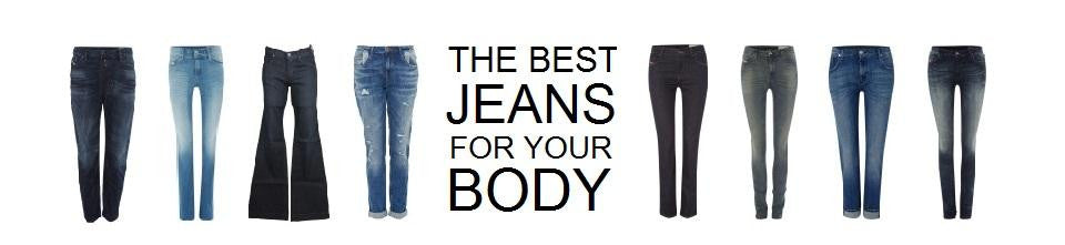 The Best Jeans for Your Body