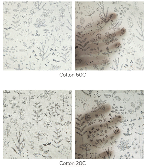 Cotton comparison