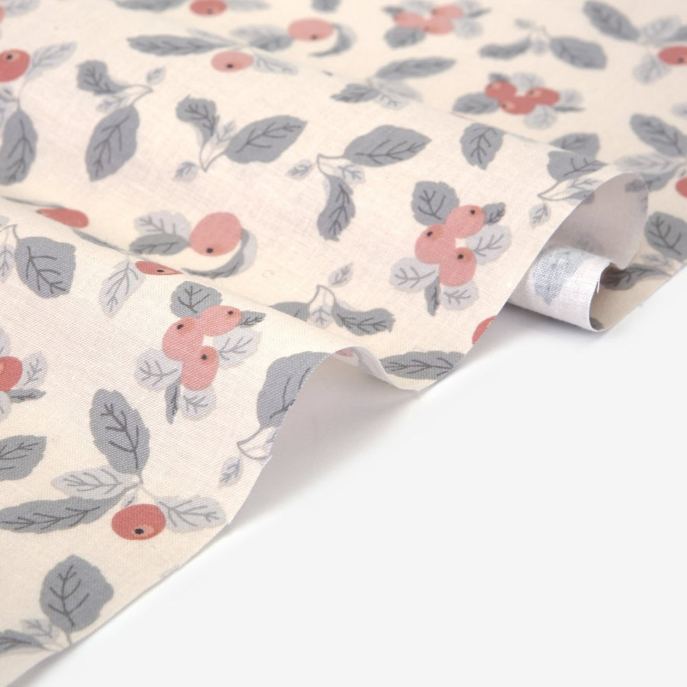 "Design Fabric (Cotton 20C) : Apple Farm Pink 42"" Wide"