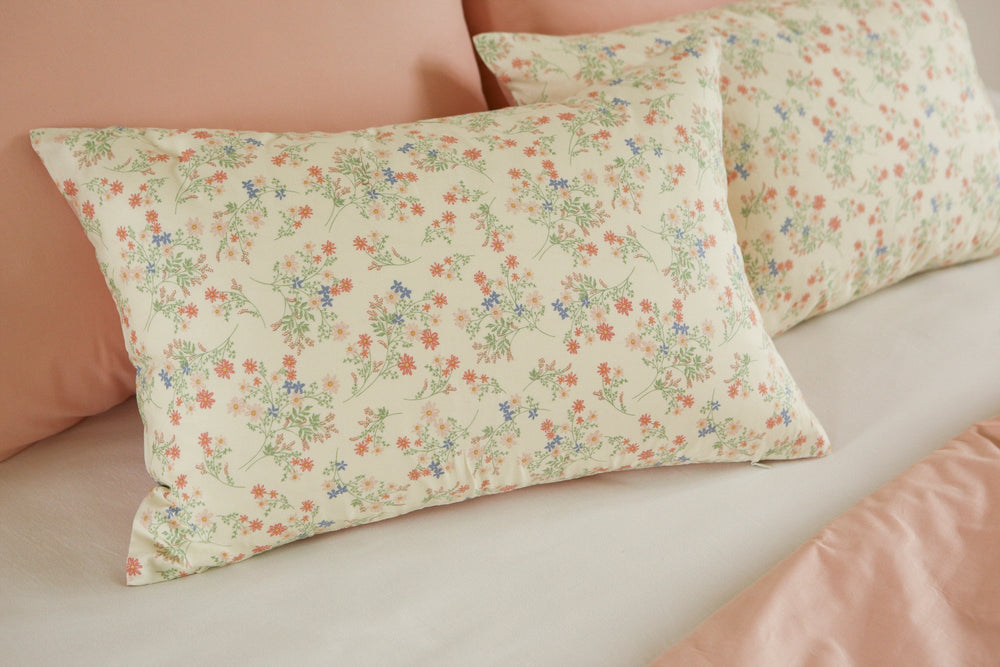 "Dailylike Canada Solid Fabric Solid Fabric (Cotton 30C) : A Fresh Day - Soft Green 62"" Wide"