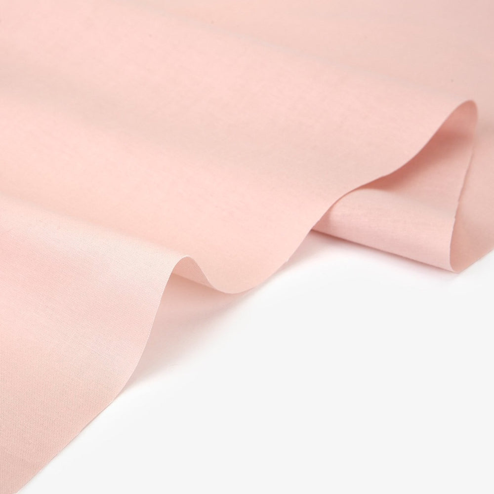 "Solid Fabric (Cotton 30C) : Pink Latte 62"" Wide"