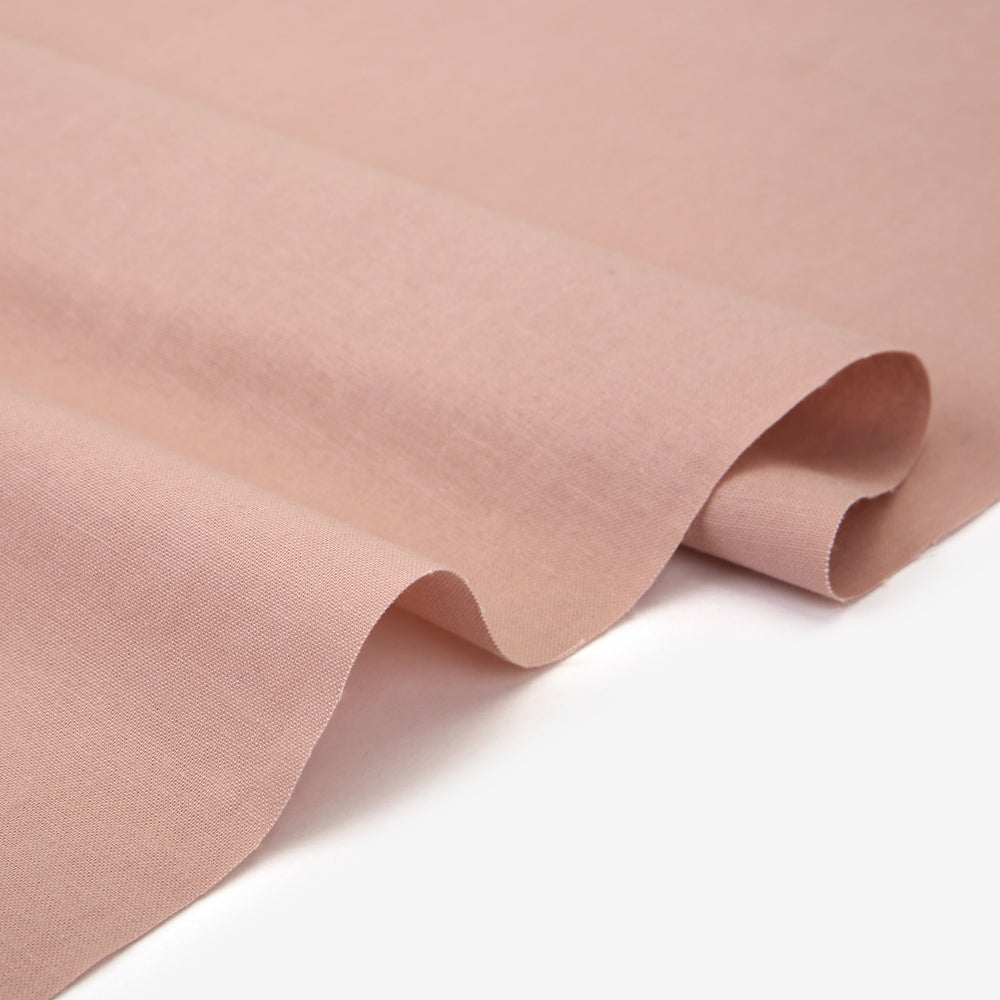 "Solid Fabric (Washing Cotton 20C) : Light Pink 57"" Wide"