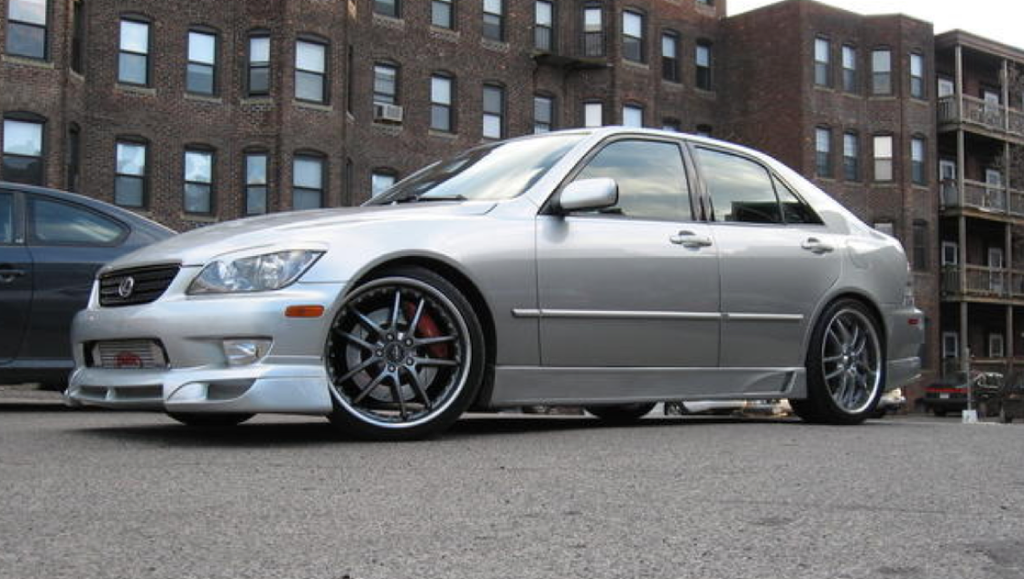 2001   2005 LEXUS IS300 VIZAGE STYLE SIDE SKIRTS