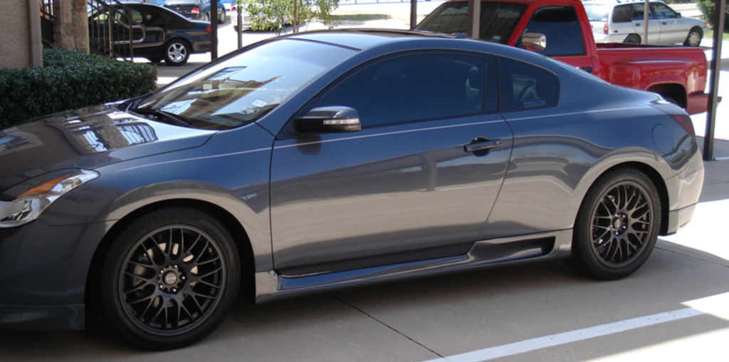 Nissan Altima Coupe >> 2007 2012 Nissan Altima Coupe Stillen Style Side Skirts