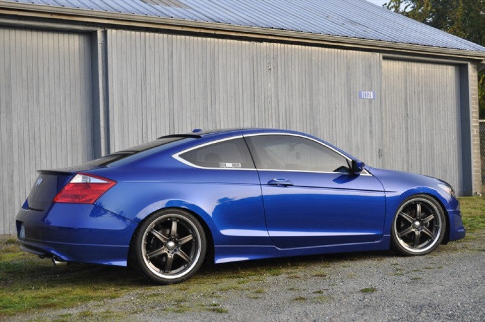 Honda Accord Coupe 2008 >> 2008 2012 Honda Accord Coupe Hfp Style Side Skirts