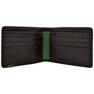 Mens Wallet Slim Thin Simple Leather Bifold