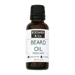 Fresh Mint Beard Oil - Boomer & Co.