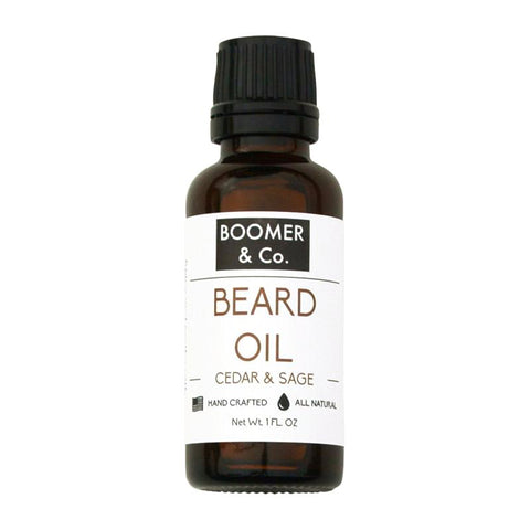 Cedar and Sage Beard Oil - Boomer & Co.