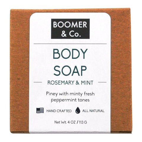 rosemary and mint body soap bar