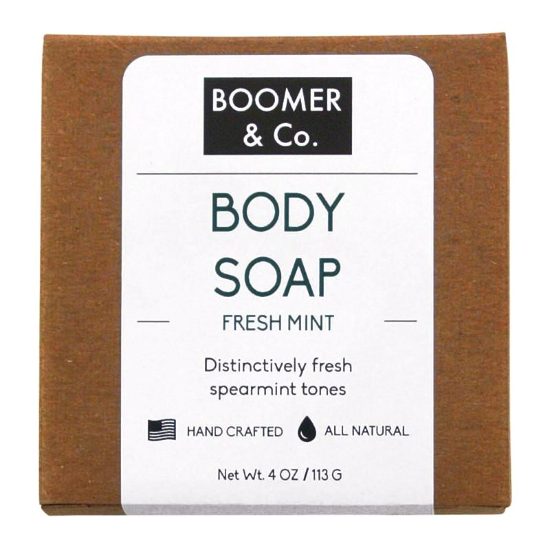 Fresh Mint Soap Bar - Boomer & Co.
