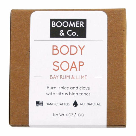 Bay Rum & Lime Shaving Body Soap Bar