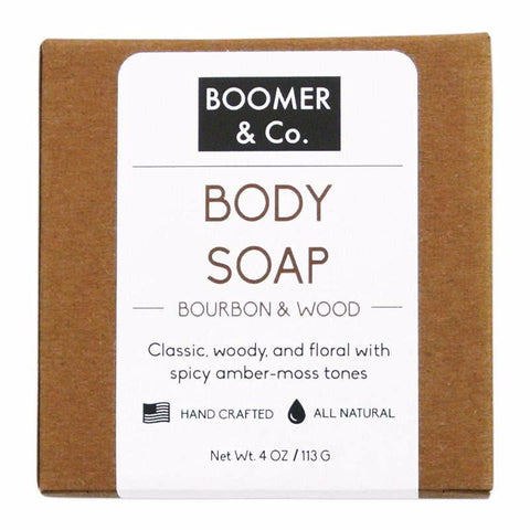 Bourbon and Sandalwood Body Soap Bar