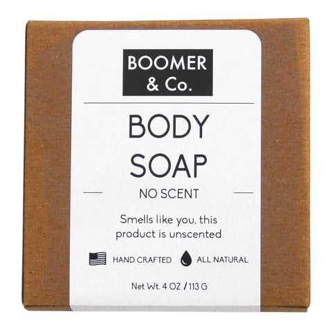 unscented body soap bar