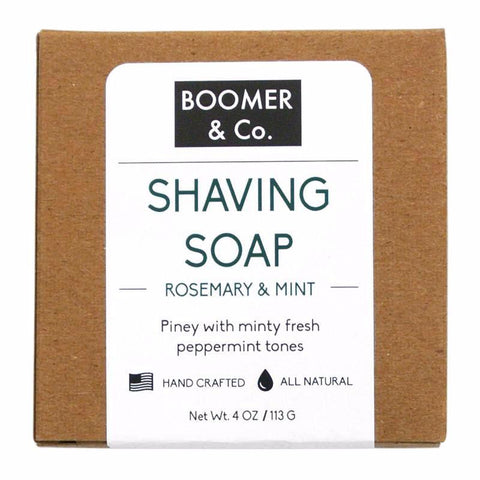 rosemary and mint shaving soap