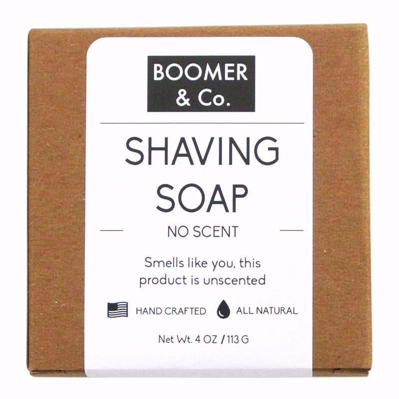 Unscented Shaving Soap - Boomer & Co.
