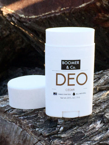 boomer and co all natural cedar deodorant