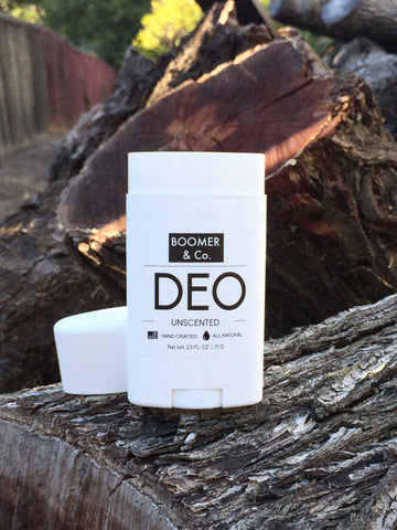 boomer and co all natural unscented deodorant