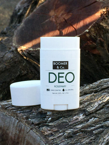 All natural rosemary deodorant