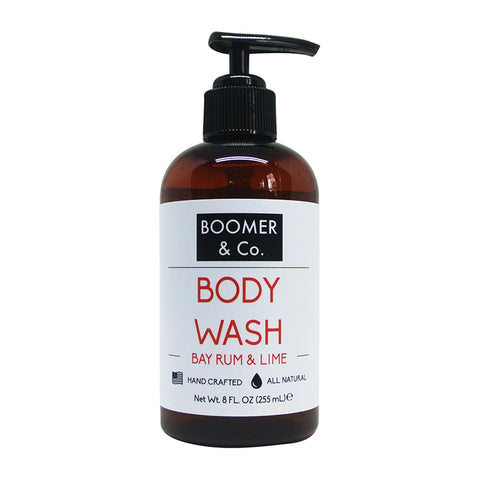 8 oz. Bay Rum & Lime Shampoo and Body Wash