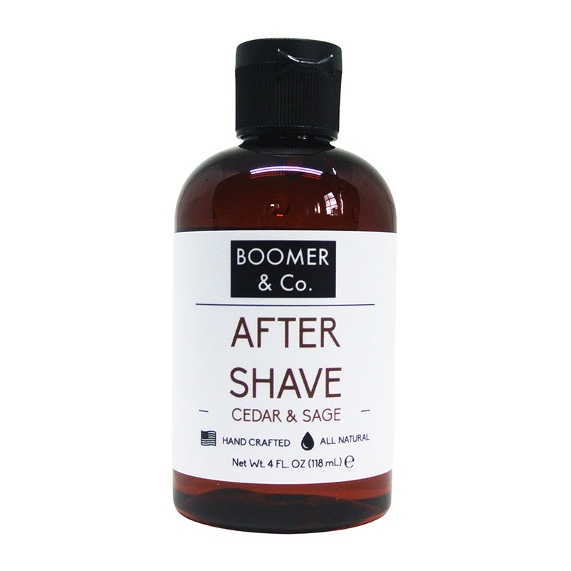 Cedar & Sage Aftershave - Boomer & Co.