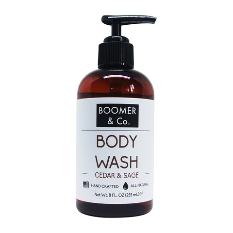 Cedar & Sage Body Wash - Boomer & Co.