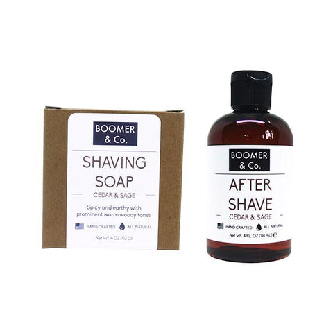 Cedar & Sage Shaving Kit - Boomer & Co.