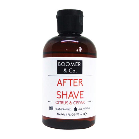 Citrus & Cedar Aftershave - Boomer & Co.