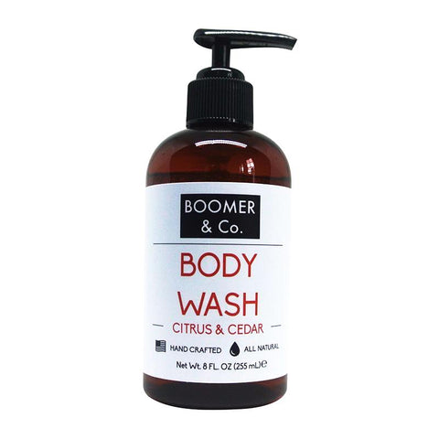 Citrus & Cedar Body Wash - Boomer & Co.