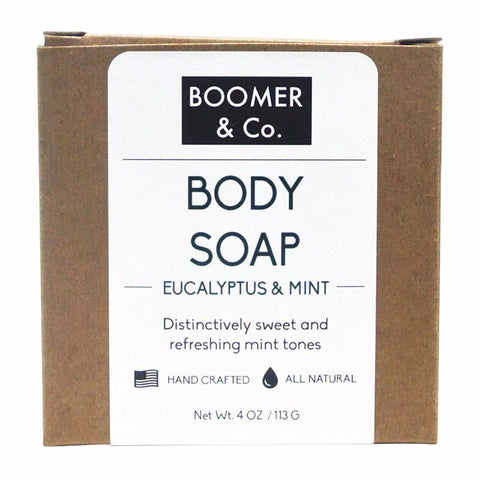 eucalyptus and mint body soap