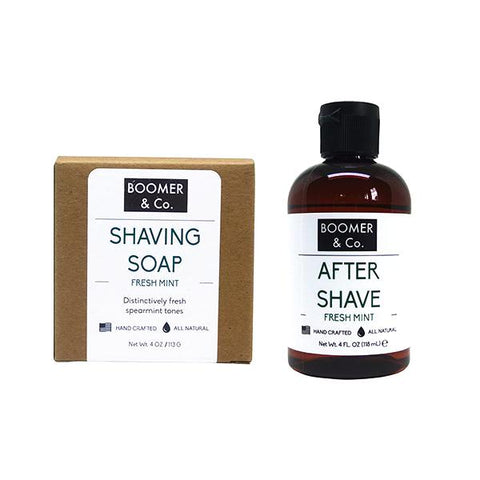 Fresh Mint Shaving Kit - Boomer & Co.