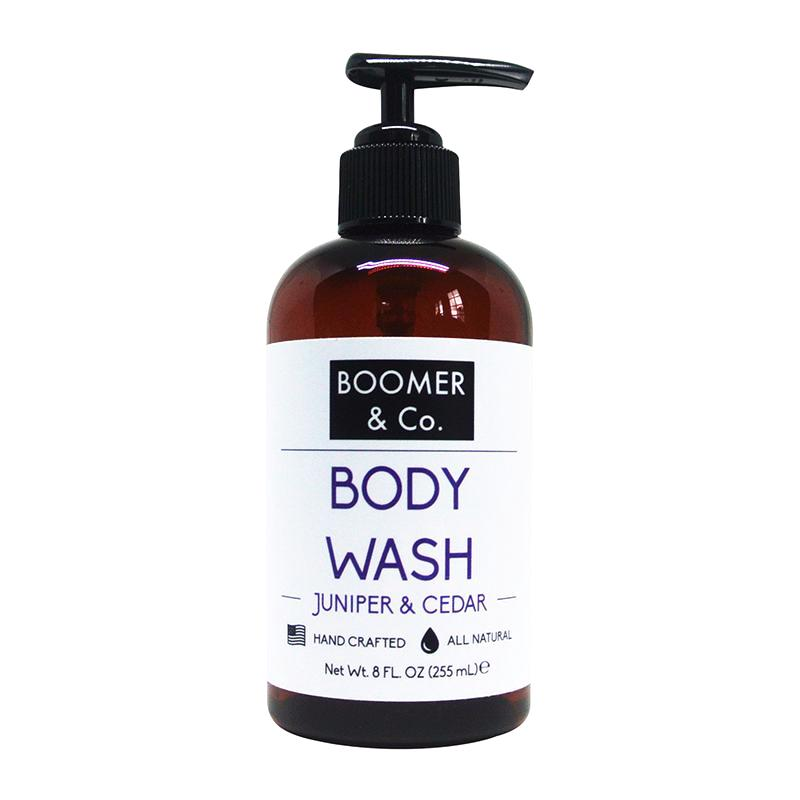 Juniper & Cedar Body Wash - Boomer & Co.