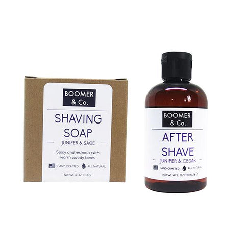 Juniper & Cedar Shaving Kit - Boomer & Co.