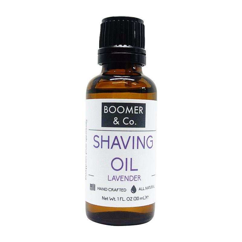 Lavender Shaving Oil - Boomer & Co.