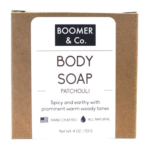 Patchouli Soap Bar - Boomer & Co.