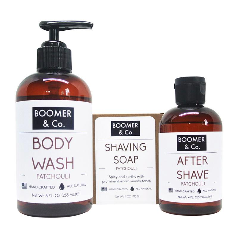 Patchouli Men's Grooming Kit - Boomer & Co.