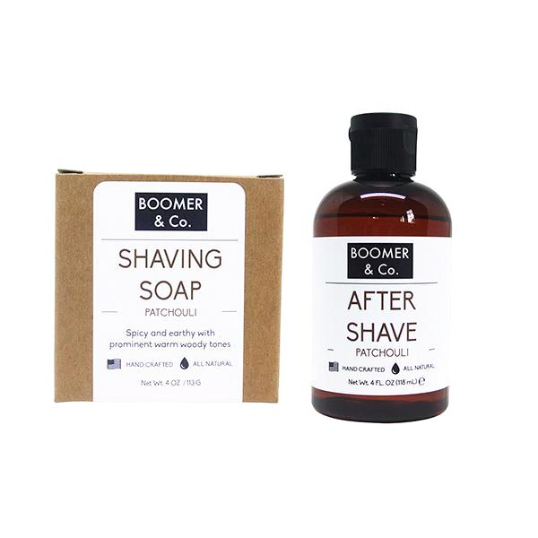 Patchouli Shaving Kit - Boomer & Co.