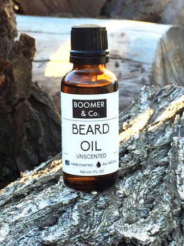 All natural unscented beard oil