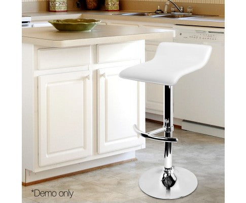Layla Kitchen Bar Stool (2 x white)