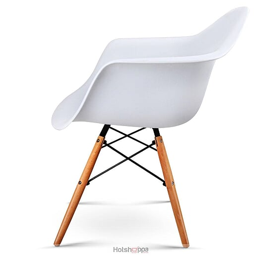 Contemporary Armchairs - White