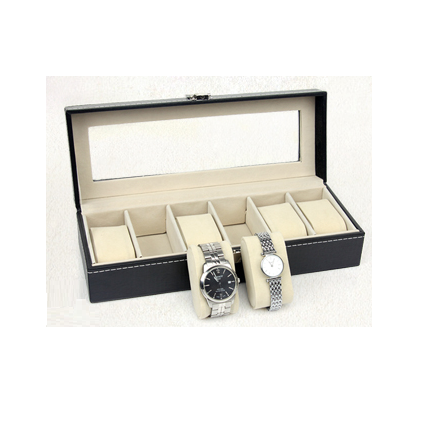 Jewellery/ Watch Display Box (6 Grids)